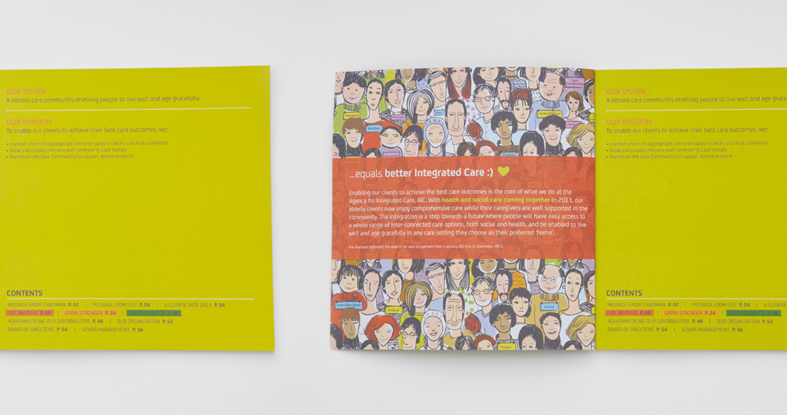 Agency For Integrated Care Yearbook 2013 Design