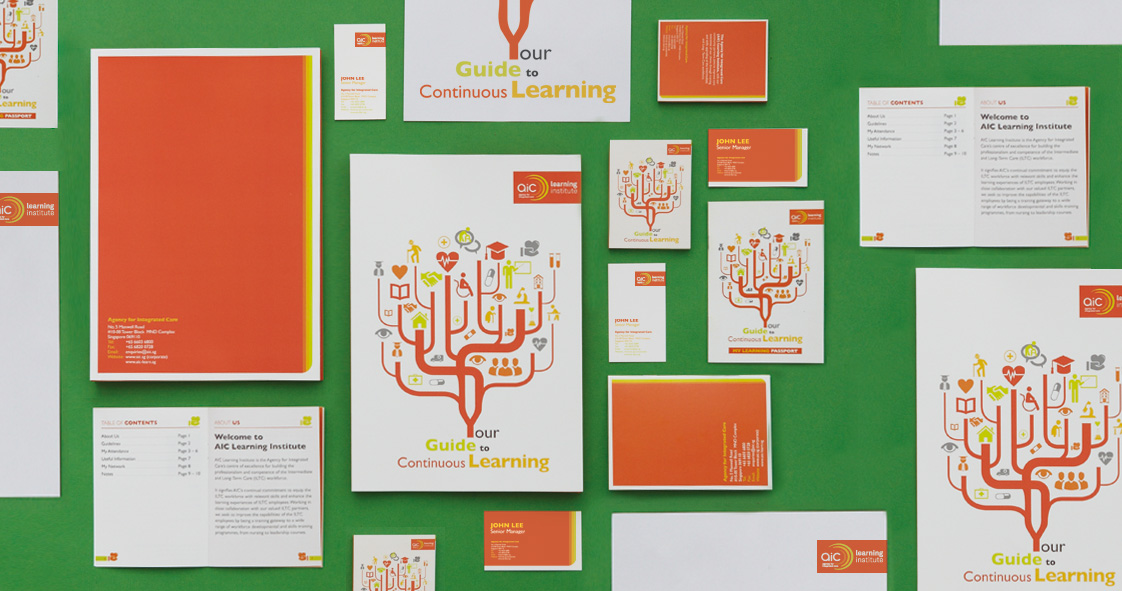 Agency For Integrated Care Learning Institute Branding Design