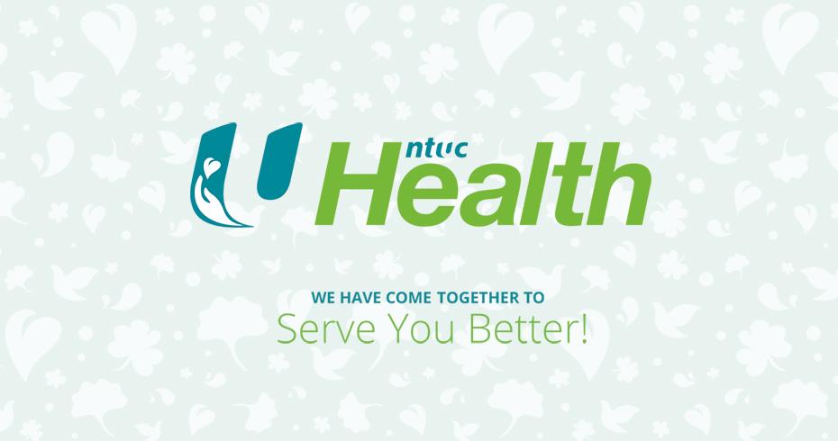 NTUC Health Brand Identity & Collaterals Design