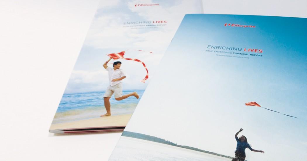 NTUC Social Enterprises Annual Report 2012 Design