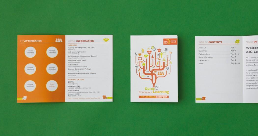 Agency For Integrated Care Learning Institute Branding Design