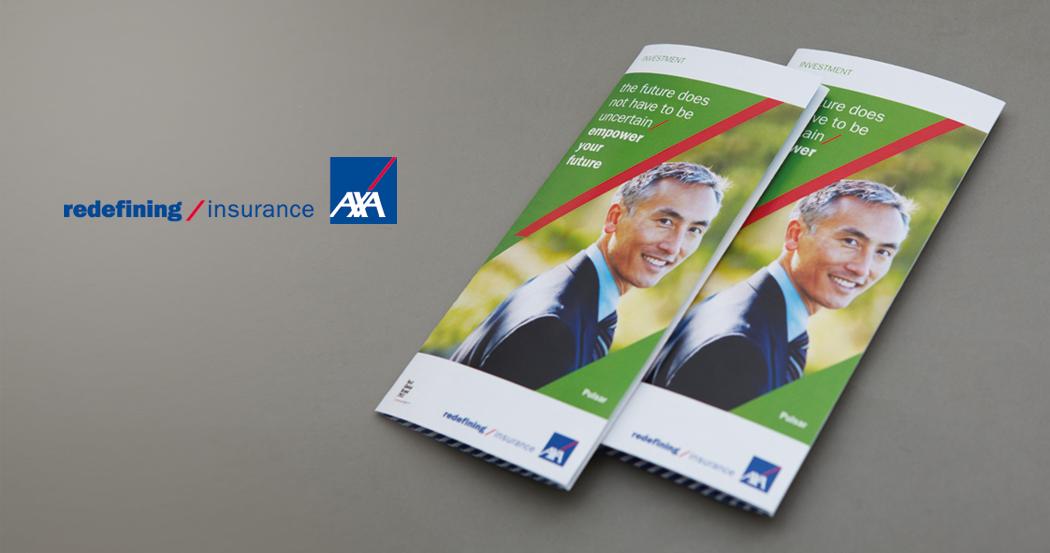 AXA Singapore Marketing Collaterals & Campaign Design