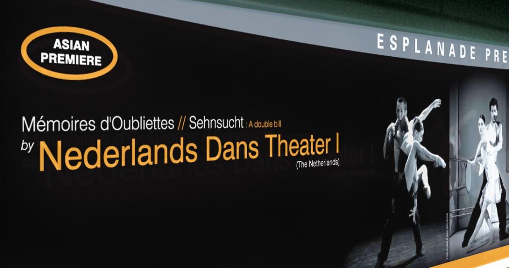 Esplanade (Da:ns Festival) Event Marketing Collaterals Design