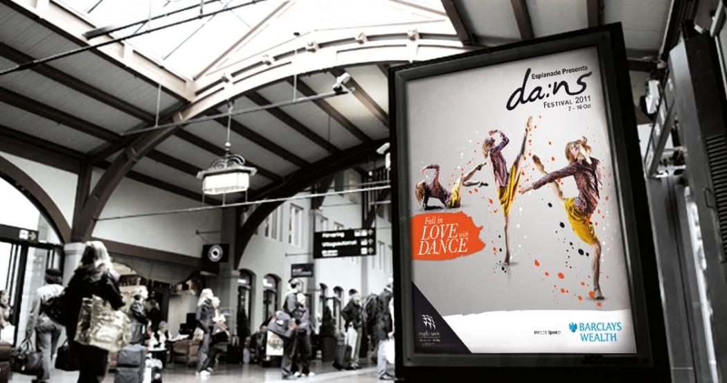 Esplanade Dans Festival Marketing Collaterals Design
