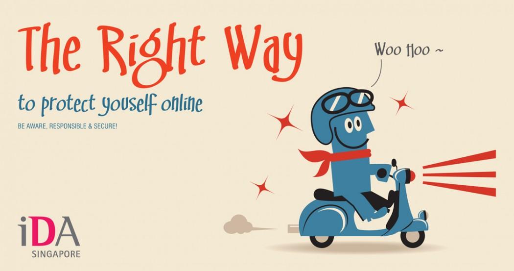IDA Singapore Online Security Awareness Programme Brochure Design