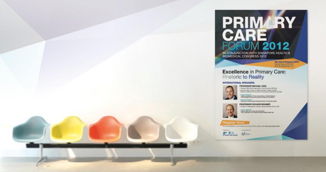 NHG Primary Care Forum Event Marketing Collaterals Design