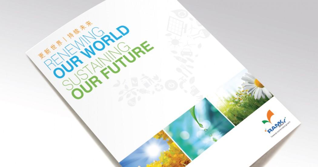 Ramky Corporate Brochure & Website Design